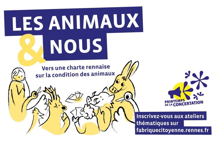 Une charte rennaise sur la condition des animaux