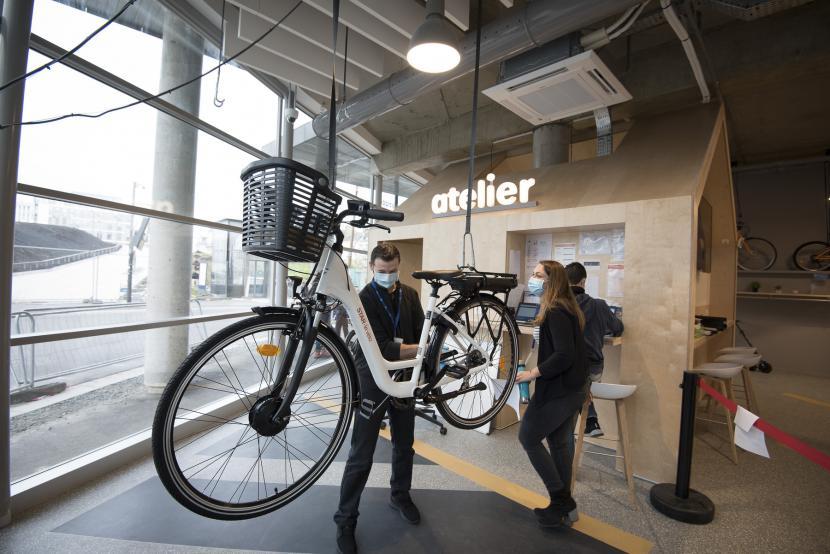 Nouveaux services de la Maison du vélo