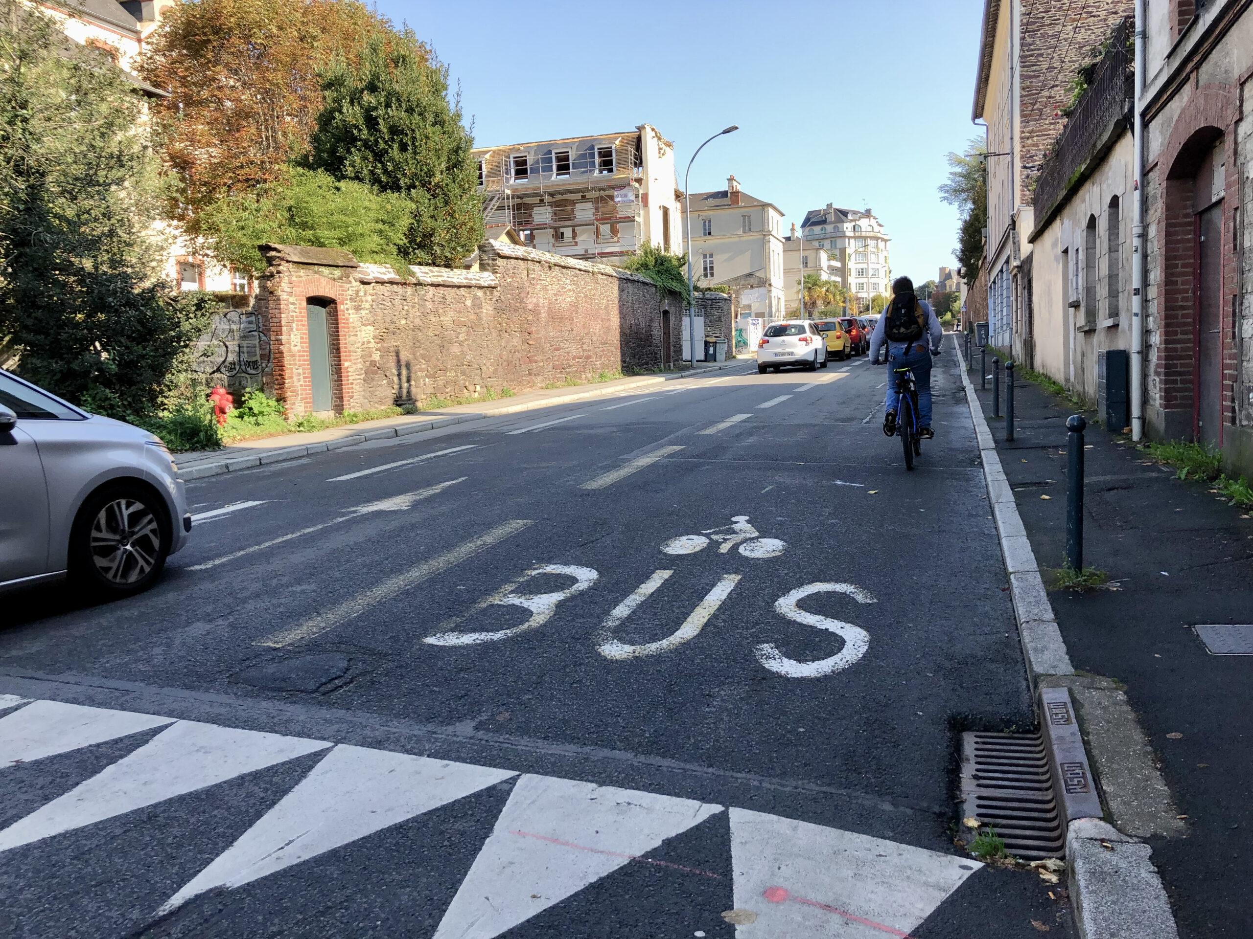 Aménagements de nouveaux couloirs bus-vélo