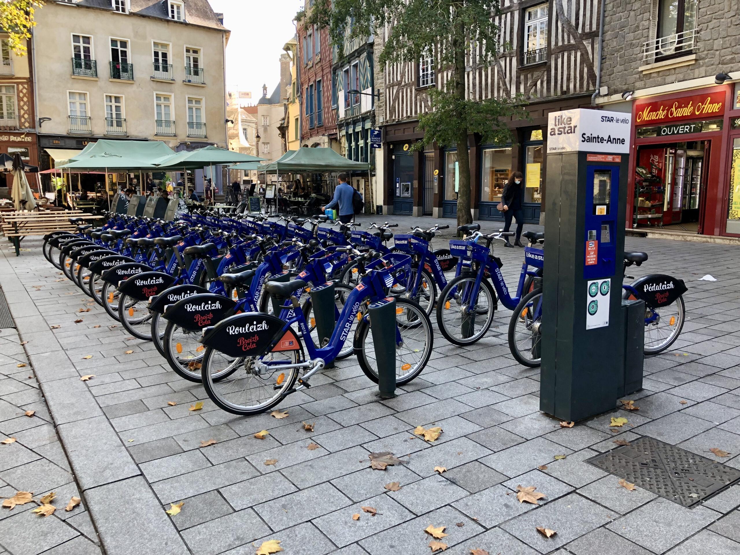 Extension des stations de vélo en libre-service